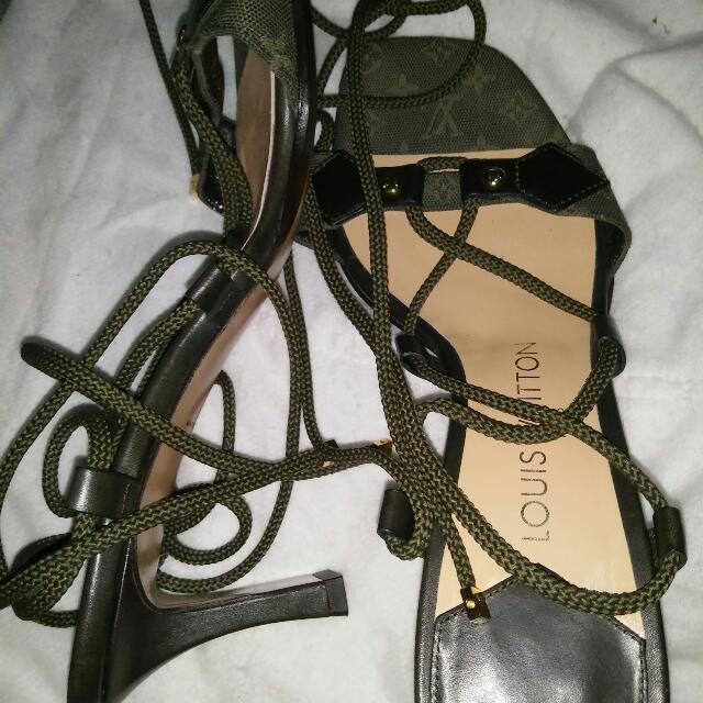 Louis Vuitton Sandals Authentic