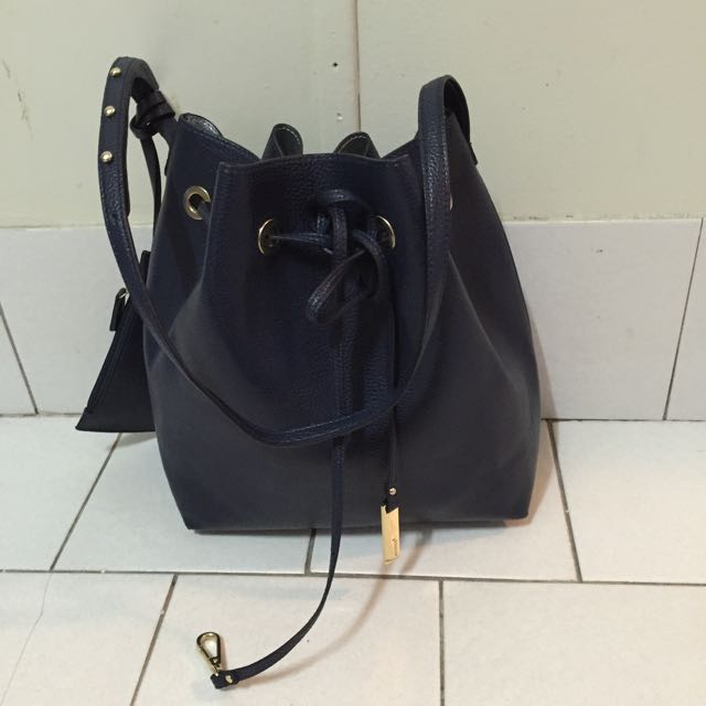 Marcs Navy blue Bucket Bag