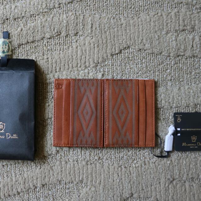Massimo Dutti Leather Card Holder