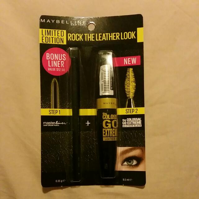 Maybelline Colossal Mascara and Masterliner Cream Pencil