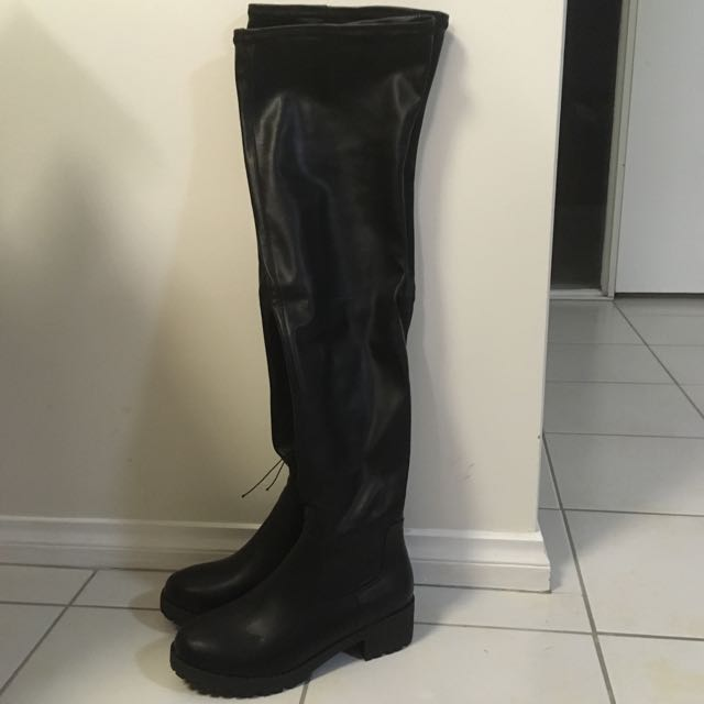 Over The Knee Boots - Size 39 (8)