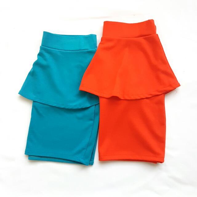 SALE - Peplum Skirt