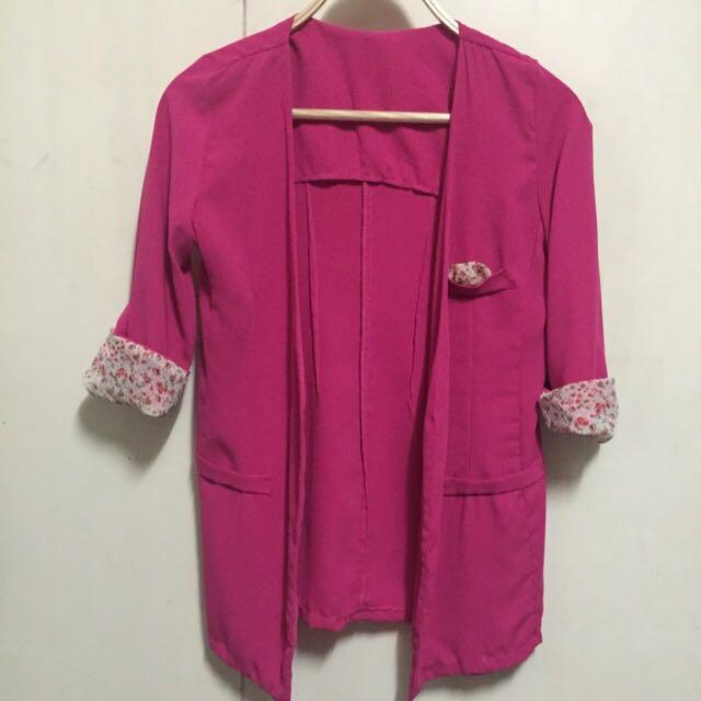 Pink blazer bangkok