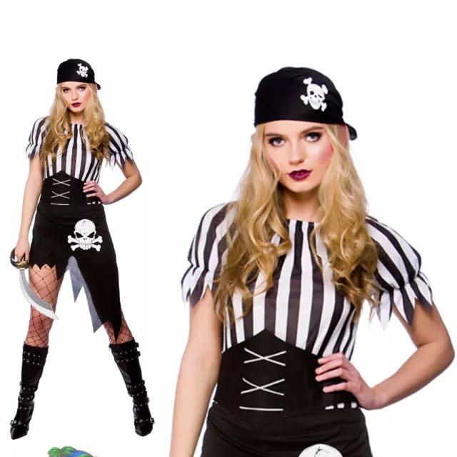 Pirate Costume New 8-10