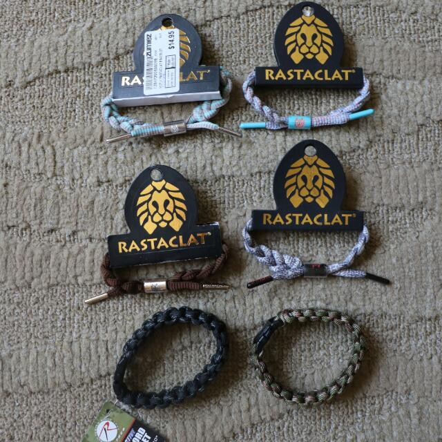 Rastaclat And Pacord Bracelets