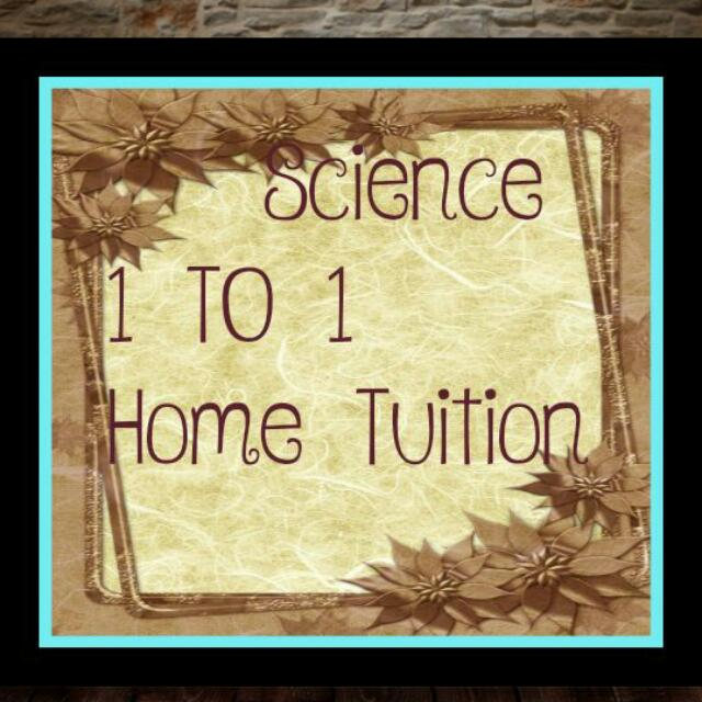 Science  1 TO 1 Tuition Primary
