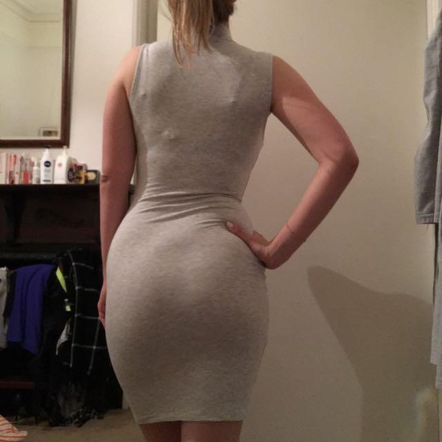 Seed High Neck Dress