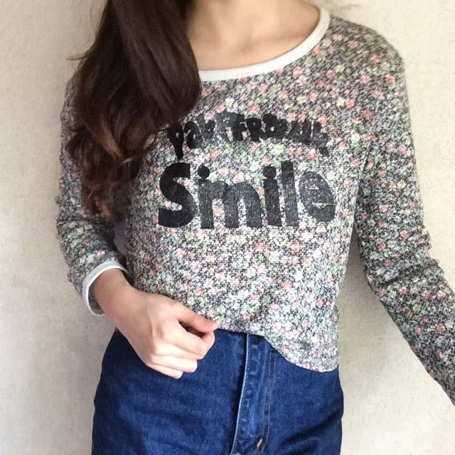 Smile Knitted Top