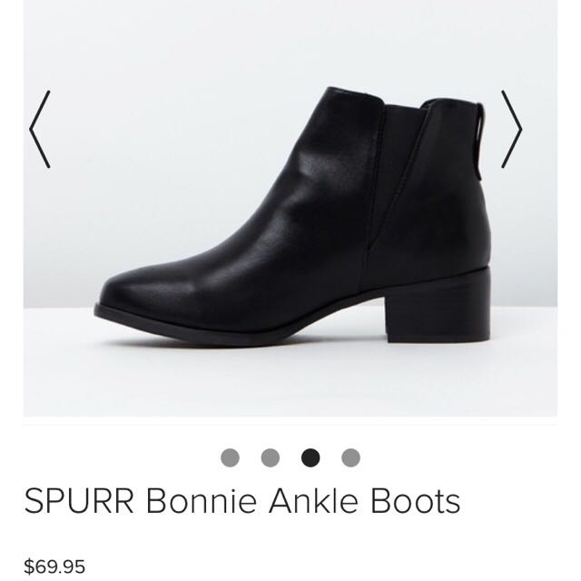 Spurr Ankle Boots