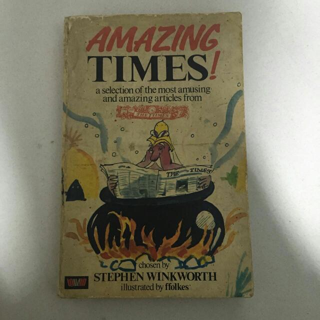 Stephen Finkworth - Amazing Times