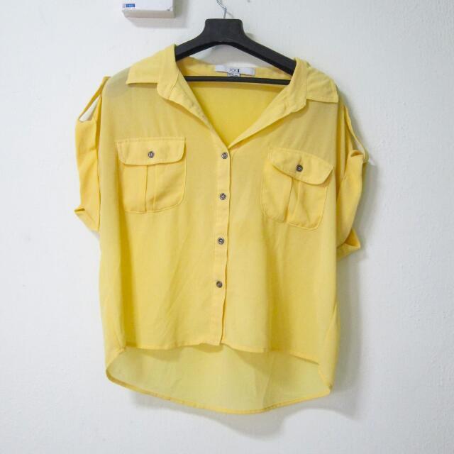 Sunny Translucent Crop Top