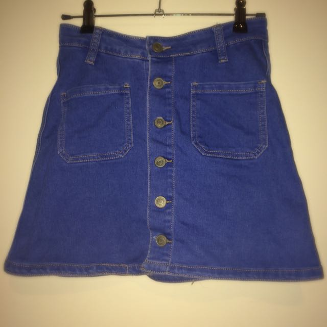 SUPRE DENIM VINTAGE SKIRT