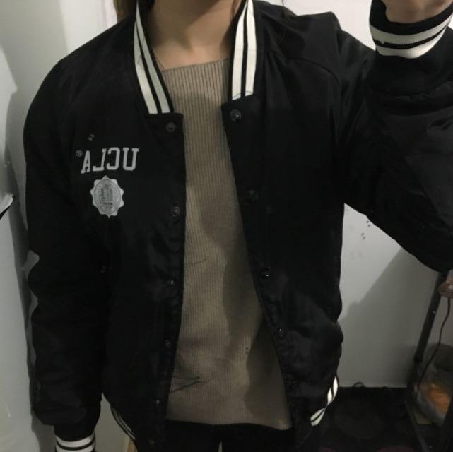 UCLA bomber jacket