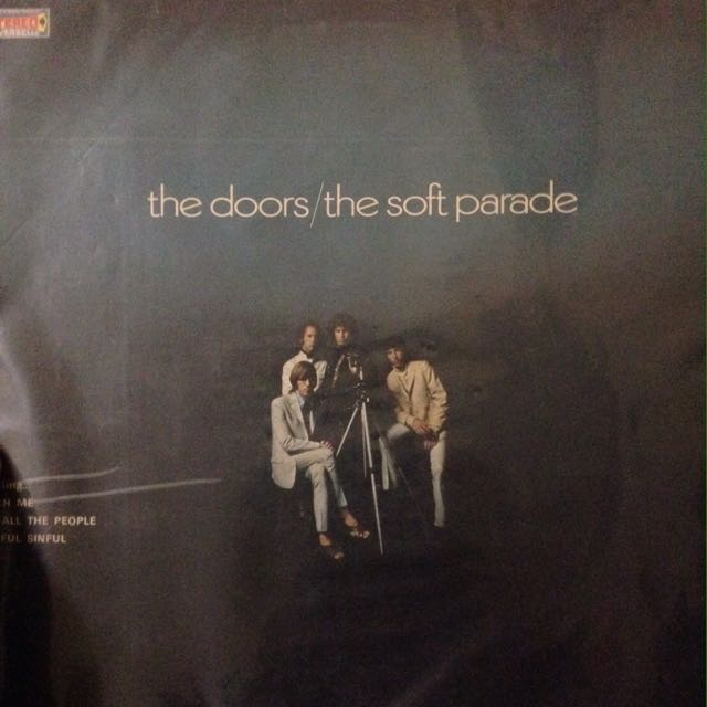 vynil the doors the soft parade