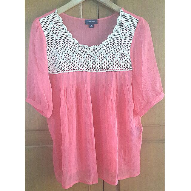 Witchery Pink Top
