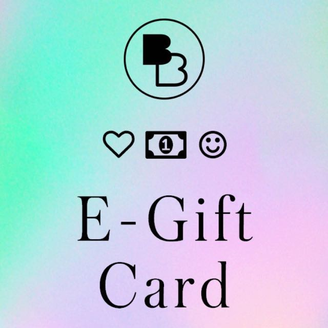WOULD ANYONE BE INTERESTED IN A BEGINNING BOUTIQUE E-GIFT CARD