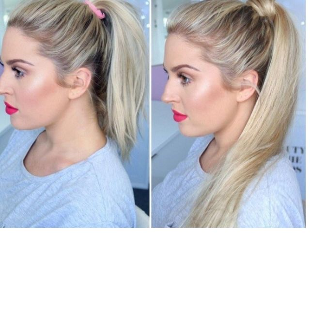 Zala Clip In Ponytail Extensions Health Beauty Hair Care