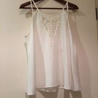 Haute Society (US brand) Lace Top