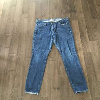 Old Navy Sweetheart Jeans Size 16 Long
