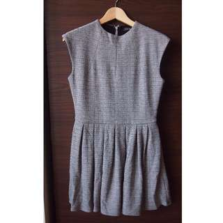 Aritzia Talula Wool Grey Dress