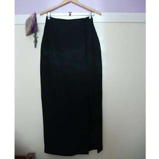'Events' Side Split Formal Skirt