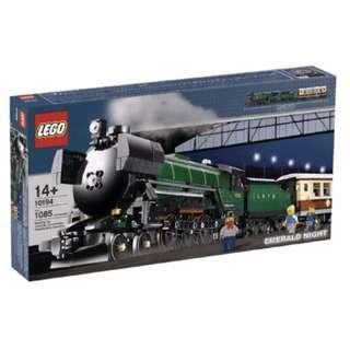 LEGO 10194 Emerald Night - Brand NEW - Rare set