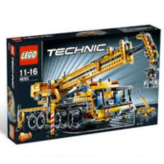 LEGO 8053 Technic - Mobile Crane - Brand New