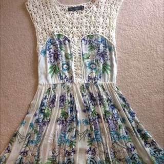 Floral Beachy dress