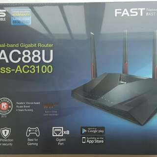 ** SOLD ** ASUS Dual-Band Wireless-AC3100 Gigabit Router (RT-AC88U)