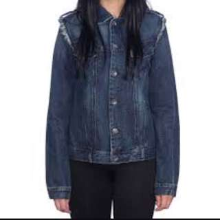 Oversized Bang Bang Denim Jacket