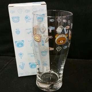 Clearance Sale ☆ Authentic Japan San X Rilakkuma Korilakkuma Kiiroitori Otter Series Lucky Dip Kuji Part 37 Prize ~ Tall Glass