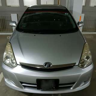 Toyota WISH (One Stop Car Rental company with owned in-house Workshop repair services)