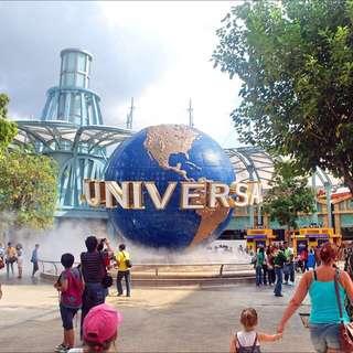 Universal Studio Uss Ticket / Adventure Cove / SEA Aquarium / Gardens By The Bay