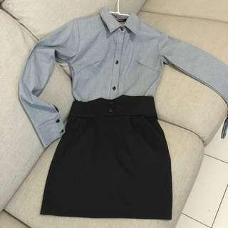 質感連身裙/洋裝