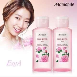 韓國✨mamonde玫瑰化妝水✨限時特價☺️到7/22中午收單✨