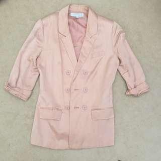 Forever New Pink Blazer