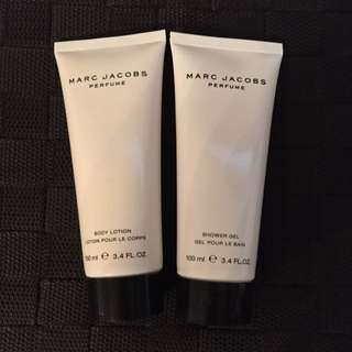 Marc Jacobs Perfume Body Lotion And Shower Gel