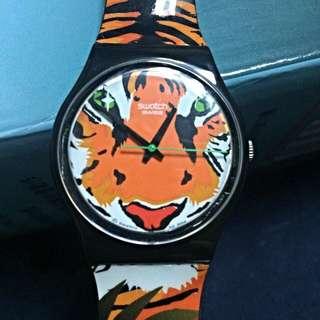 Swatch老虎手錶
