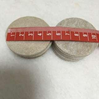 地板保護墊 尺寸約5公分一組10片 含運費