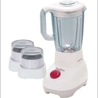 MOULINEX SUPER BLENDER WITH MILL & GRINDER