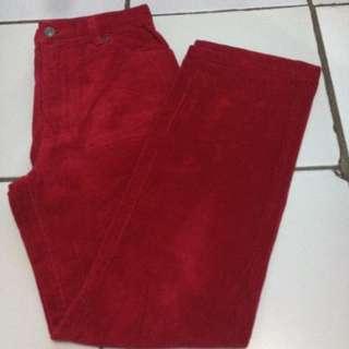 Spick & Span Pants Red