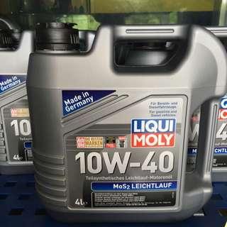 MoS2 Leichtlauf 10W-40 Liqui moly Engine Oil