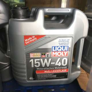 MoS2 Low-Friction 15W-40 Liqui Moly Engine Oil