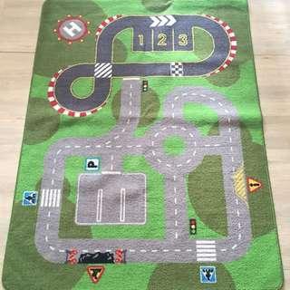 IKEA 兒童遊戲短毛毯