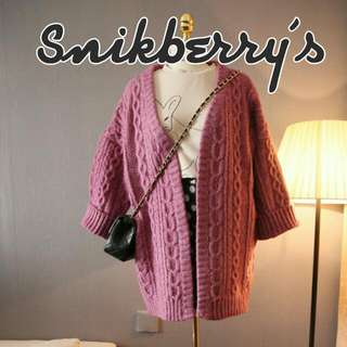 Rustic Pink Long Sweater