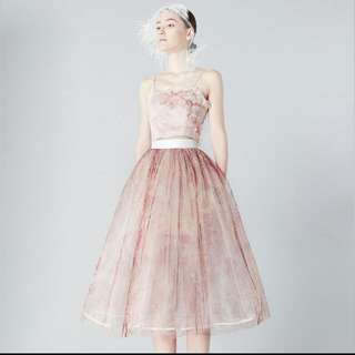 ES Designed Dress In Pink