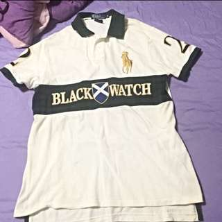 Authentic Polo Ralph Lauren Black Watch Polo Tee