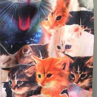Satanic cats leggings!!!!