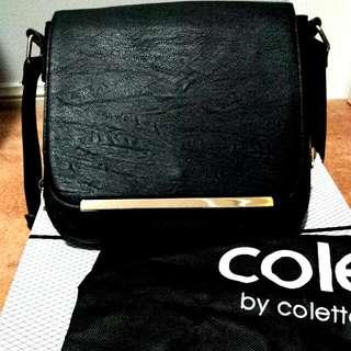 Black Satchel COLETTE Bag