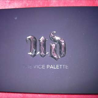Urban Decay Vice Pallet 1